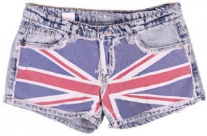 English Flag shorts