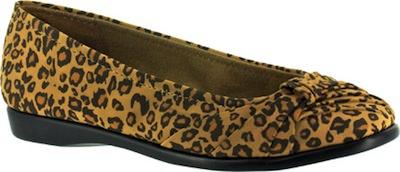 Easy Street Leopard Print Flats