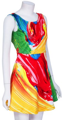 Oil Paint design Dress