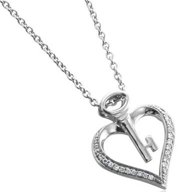 Key To My Heart Diamond Necklace