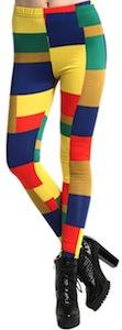 Color Patches Leggings