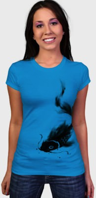 Koi Fish women's t-shirt