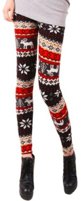 Christmas Reindeer Leggings