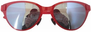 red women's sunglasses