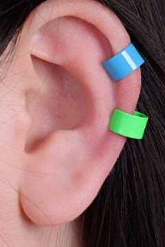 Fun color ear clips