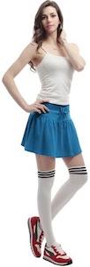 Comfy waist mini skirt