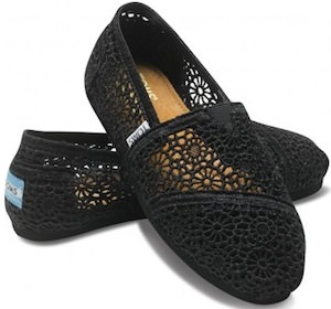 Toms Crochet Classic Shoes