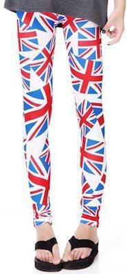 English flag leggings