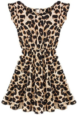women's Leopard Print Dress