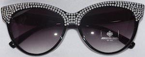 Tamar Braxtons Rhinestone sunglasses