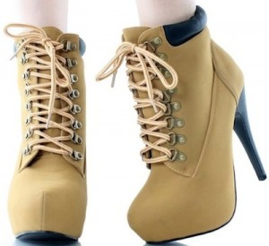 Hight Heel boots and i mean like real boots