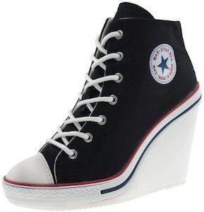 sneaker style heels