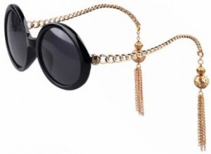 women's chain and tassel sunglasses