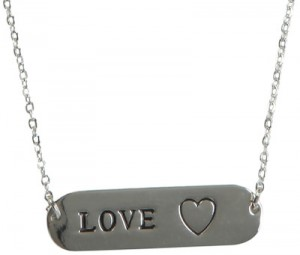 love sick pendant necklace