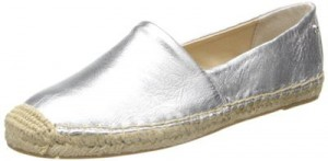 Women's Silver Flat Shoes