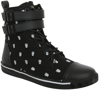 Iron Fist Misfits Canvas High-Top Sneakers