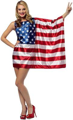 US Flag Costume Dress