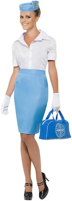 Pan Am Stewardess Costume