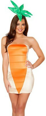 Sexy carrot costume dress