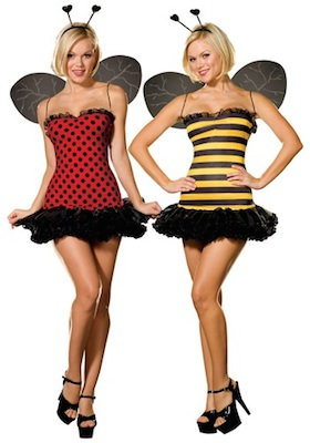 Women's Reversible Ladybug And Bumble Bee Costume