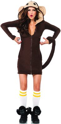 Girls Monkey Costume Dress