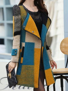 Women's Multi Color Coat