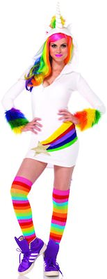 Rainbow Unicorn Women's Costume