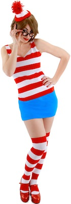 Waldo Women's Costume Dress
