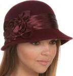 Wool Cloche Bucket Style Hat