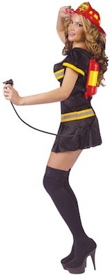 girls fireman costume