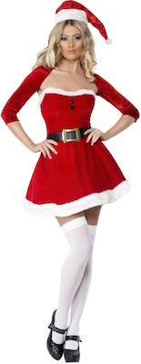 women's Santa Clause costume