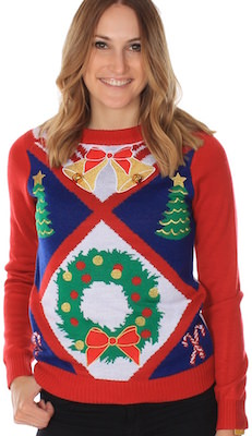really ugly Christmas sweater for women