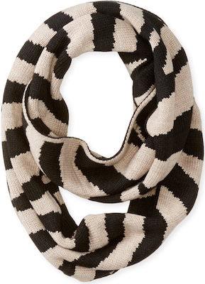 Calvin Klein Zebra Print Infinity Scarf