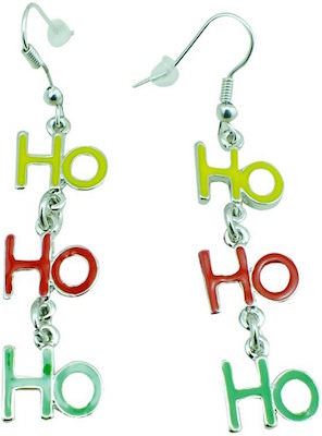 Ho Ho Ho Christmas Earrings