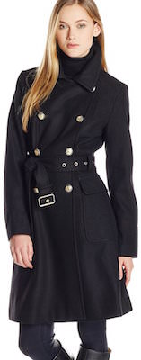 Vince Camuto Women's Wool Trench Coat