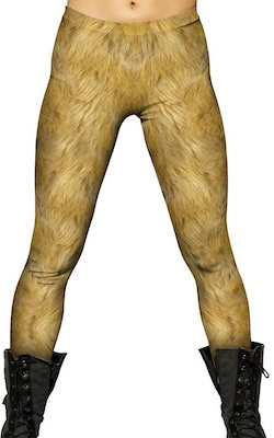 USA made Lion Skin Women's Leggings