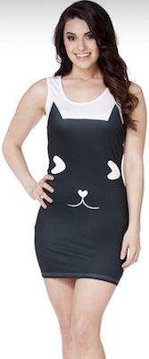 Women's Cat Dress
