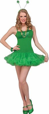Green St Patrick's Day Costume Dress