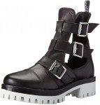 Love Moschino Women's Combat Boots With Cutouts