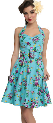 Hell Bunny Floral Summer Dress