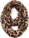 Leopard Print Infinity Scarf