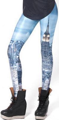 New York Skyline Leggings