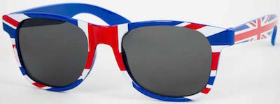 Union Jack British Flag Sunglasses