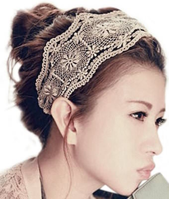 Lace Wide headband