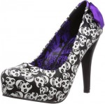 Skulls All Over Women's Shoes