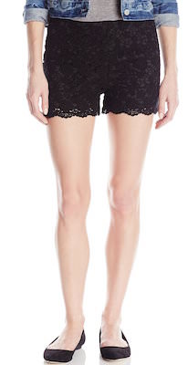 Women's Crochet Shorts In Black Or Cream