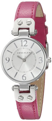 Anne Klein Silver And Pink Women's Watch