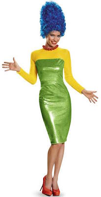 Marge Simpson sexy Women's Costume