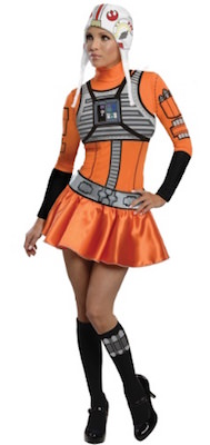 Star Wars X-Wing Fighter Pilot Women's Dress Costume
