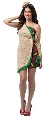 Women's Taco Costume Dress